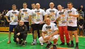 Kamil Bazelak w meczu charytatywnym dla Jerzego Kuleja