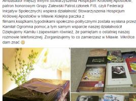 Paczka charytatywna od Kamila Bazelaka